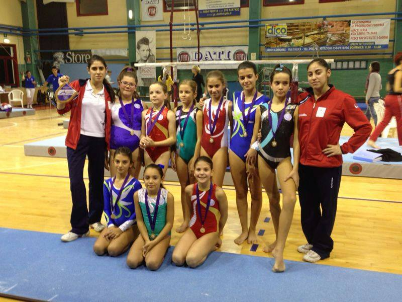 Le atlete GpT dell'ASD World Sporting Academy