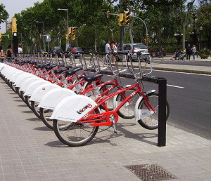 Bicing_Barcelona_Urban_Cycling