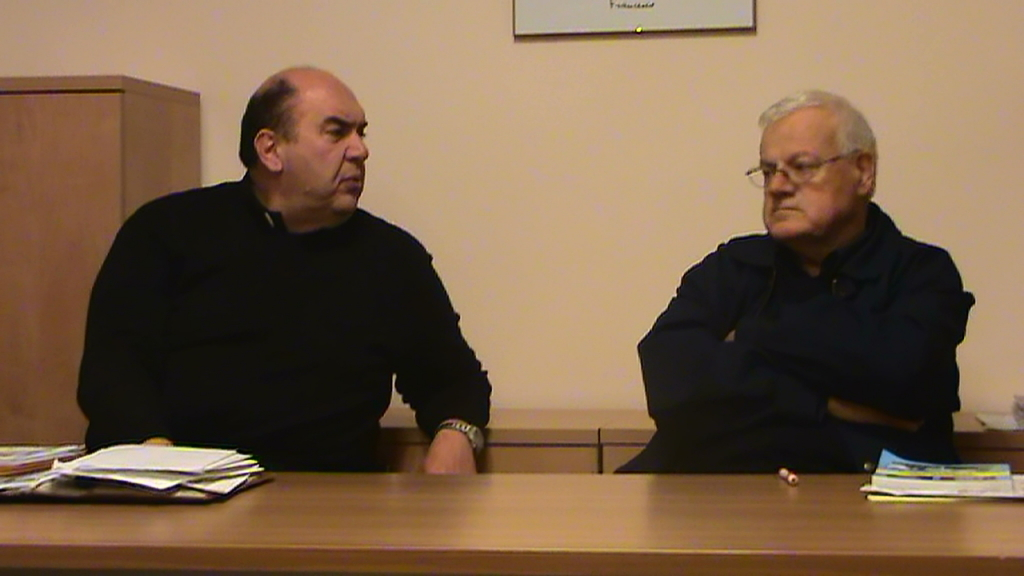 Don Nicola Spinozzi e Don Alberto Forconi