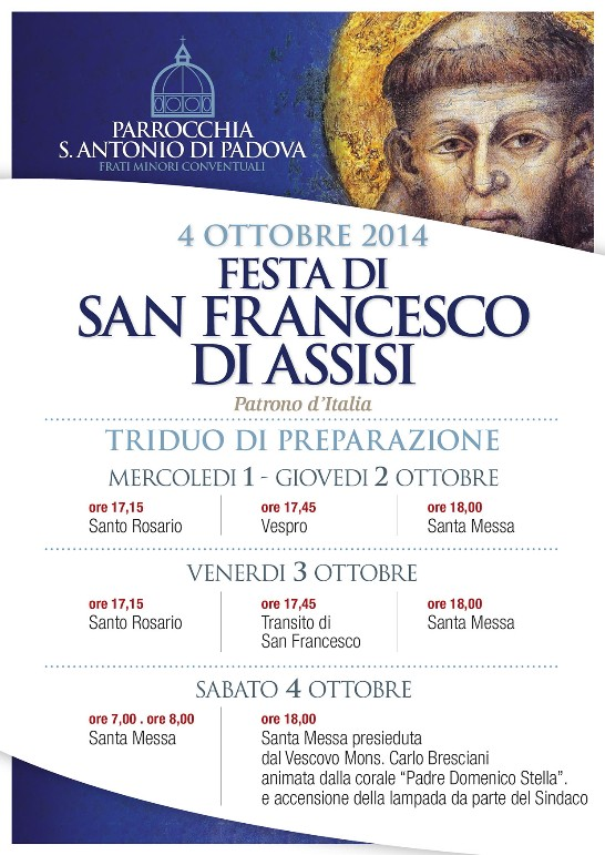 Festa San Francesco D'Assisi