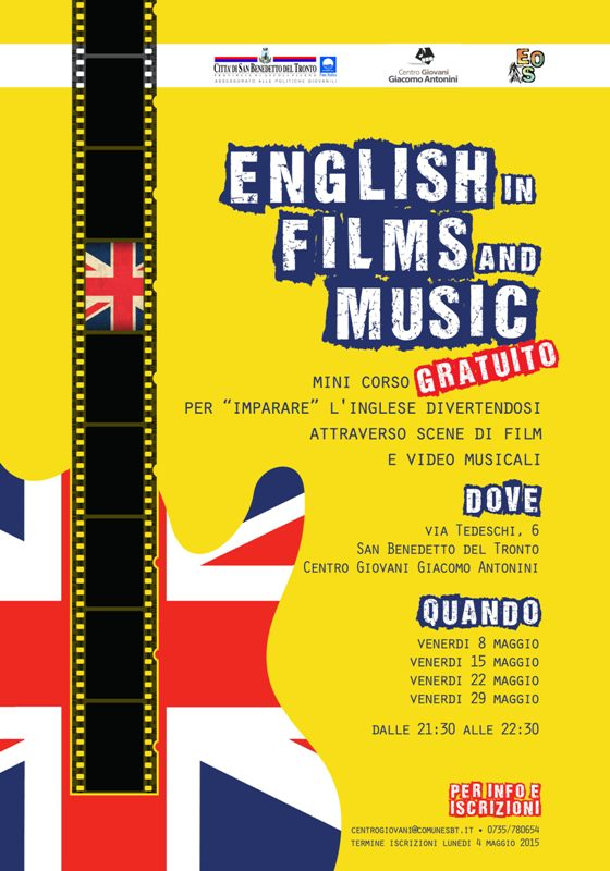 english in films and music